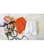 Шапка для девочки от 06-2лет(весна-осень)